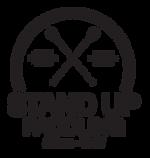 Stand up paddling logo