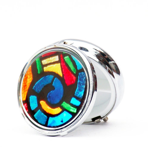 Stained Glass Pillbox-Small