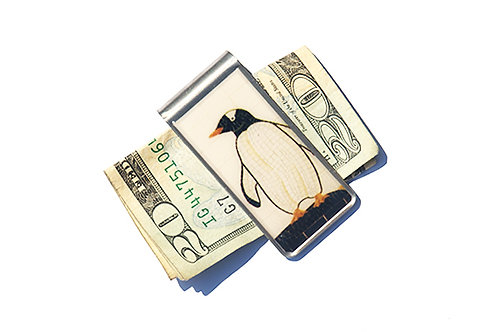 Penguin Money Clip