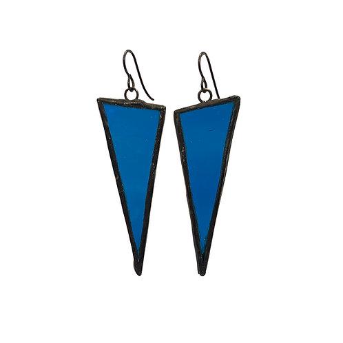 Cyan Ripples - Triangles