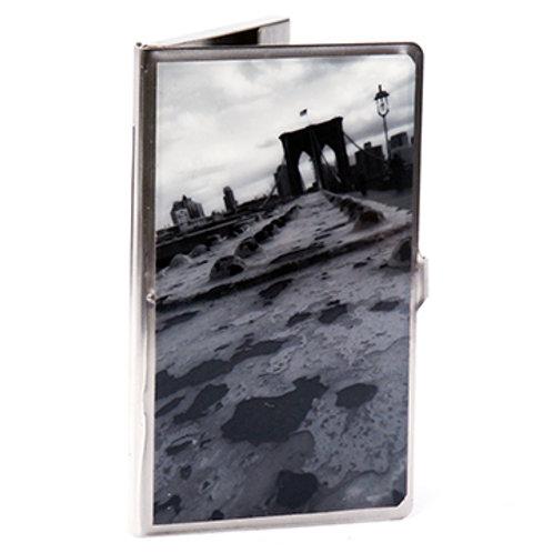 Brooklyn Bridge B & W Card Case