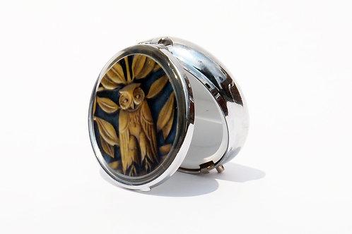 Owl Pillbox-Small