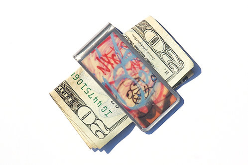 Graffiti Money Clip