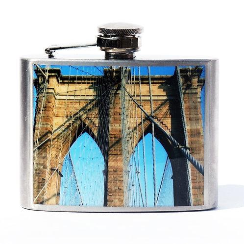 Brooklyn Bridge Arch 4oz Flask