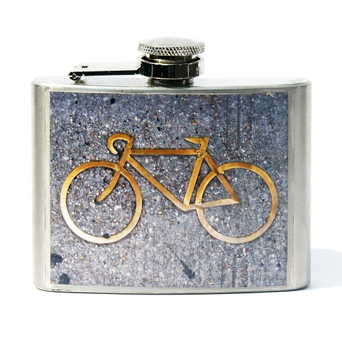 Bike 4oz Flask