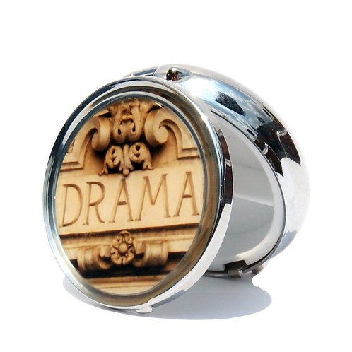 Drama Pillbox-Small
