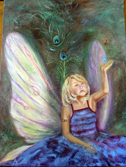Olivia, The Butterfly Fairy (SOLD)