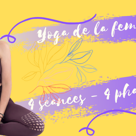 Yoga et Cycle féminin