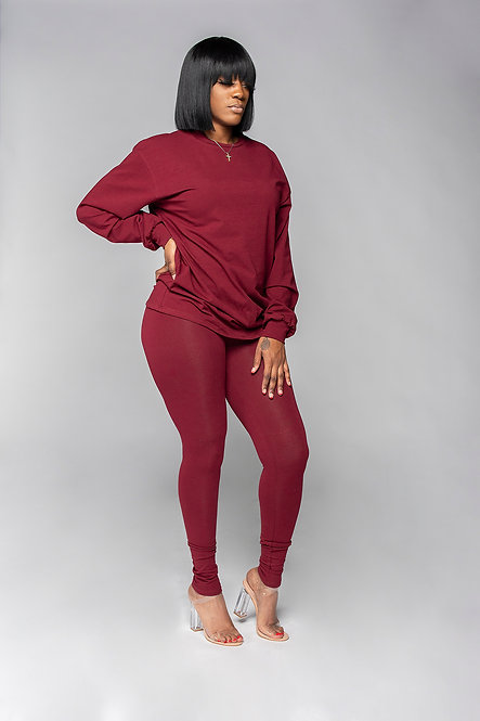 Chill Set (Burgundy)
