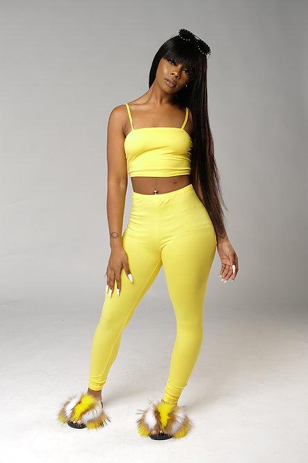 Honey 2 Piece Sets Yellow