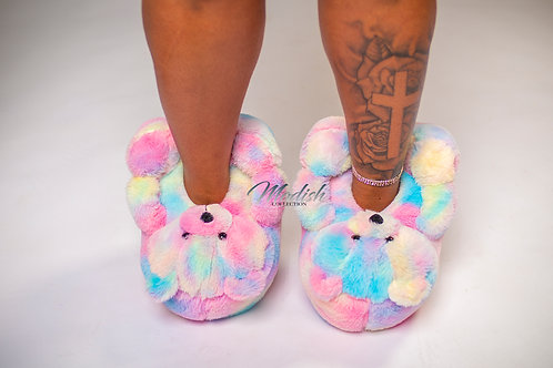 Modish Teddy Slippers Unicorn