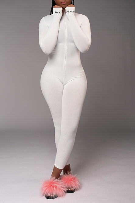 Modish Lux Jumper (White)
