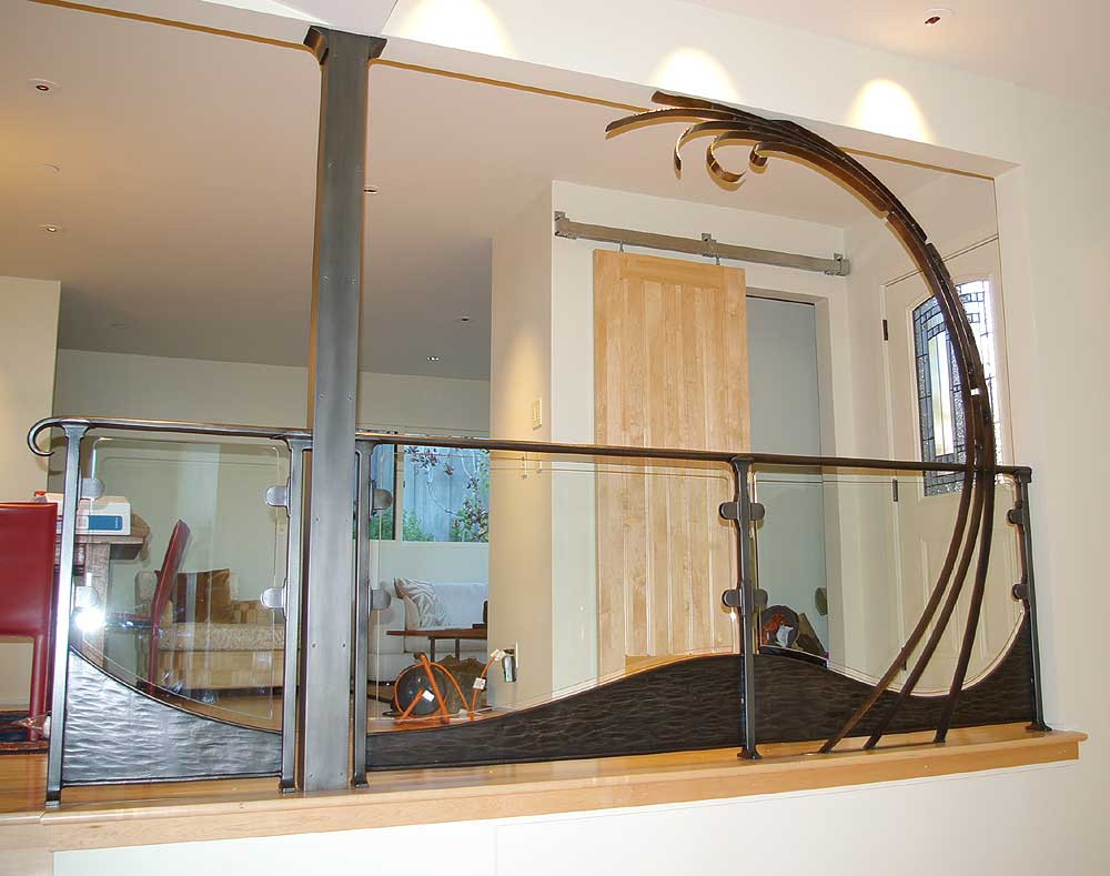 Sea Cape Wave Railing