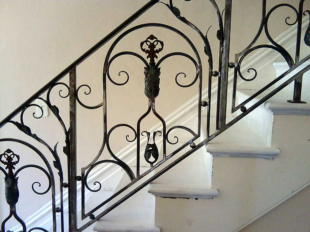 French-Style Stair Rail