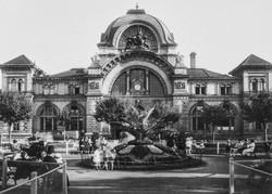 Der Bahnhof Luzern um 1919