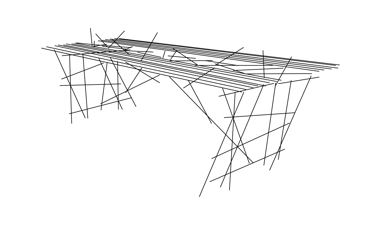 Tisch Skizzenstil