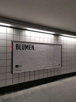 Plakat in Luzern am Bahnhof