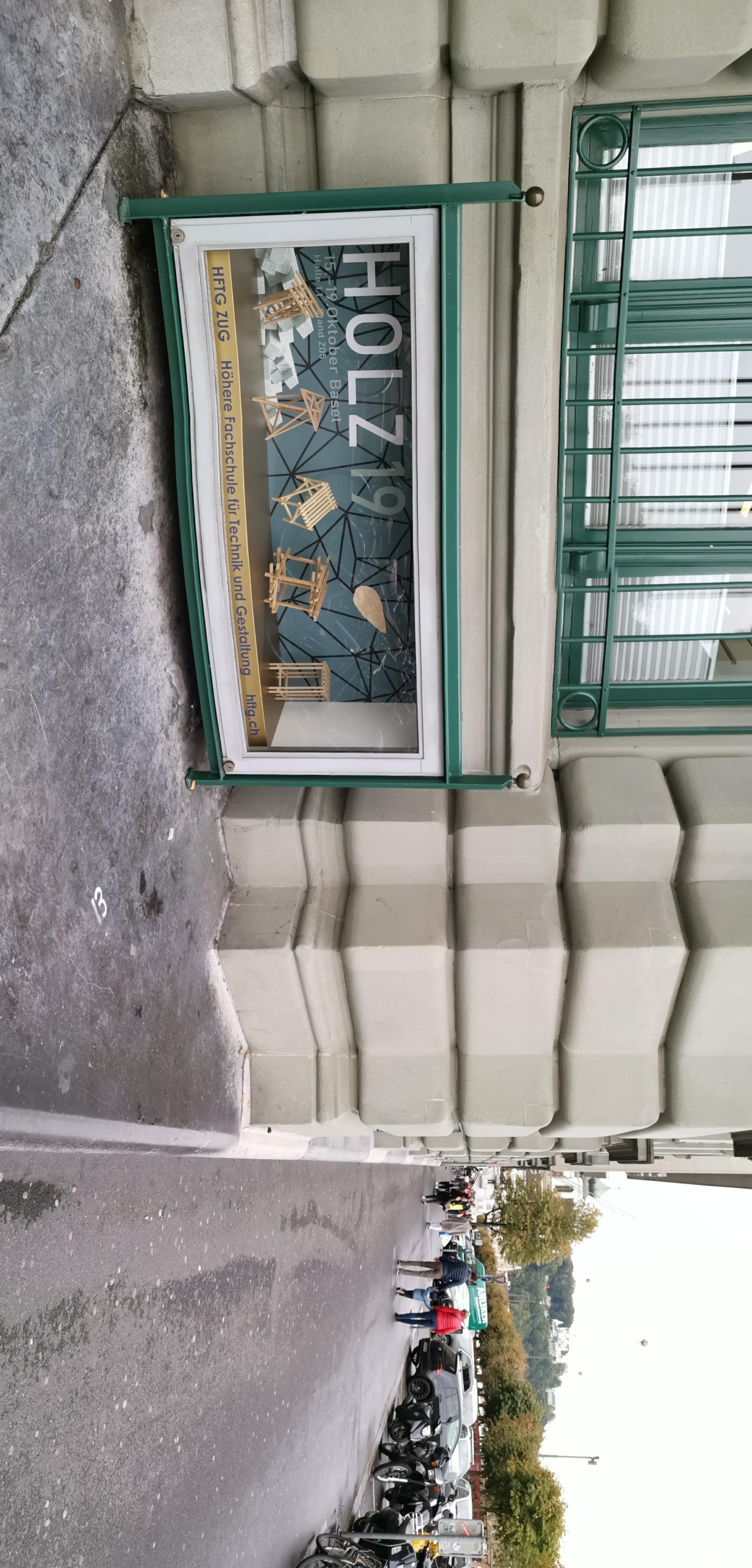 Bespielung Schaukasten Luzern