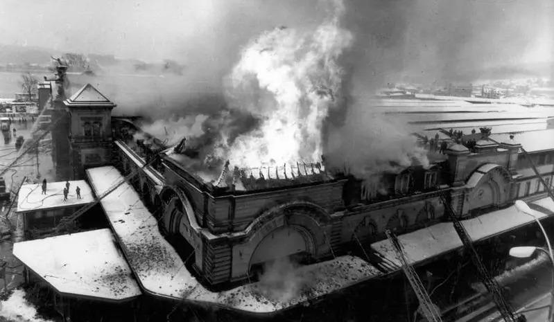 Bilder des Brand, 6. Februar 1971