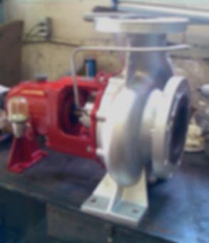 Pompes industrielles | Remplacement des roulements - Remplacement des joints mécaniques