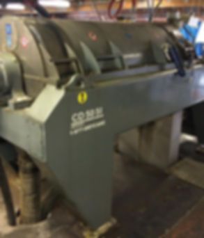 Centrifugeuse - Decanter | Inspection mécanique