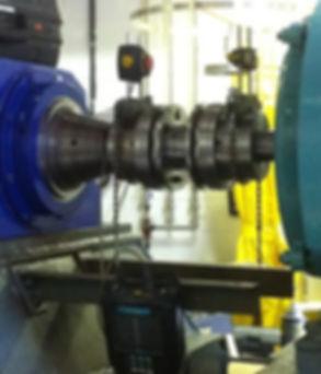 Alignement laser industriel Équilibrage dynamique en chantier | Moteur - Pompe - Ventilateur