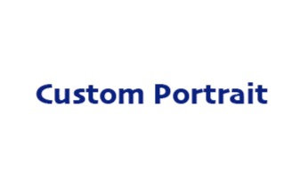 Medium Sized Custom Portrait