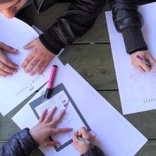 """2015-TÜRKİYE  Faber Castell """"Tek cizgide hayalini ciz, bu yılın kazananı sen ol"""""""