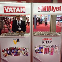 2016-İZMİR  MİLLİYET & VATAN STAND ÇALIŞMASI