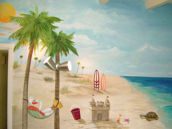 Miami Beach Baby Mural