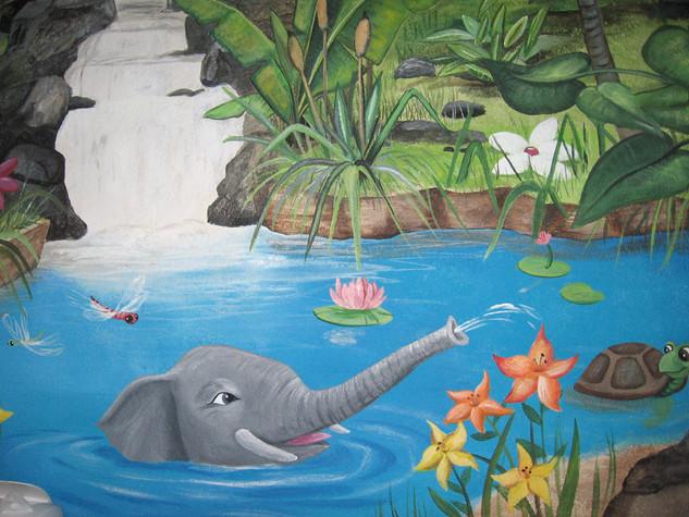 Pond Murals