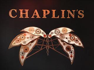 Chaplin's Photo Op Chalkboard