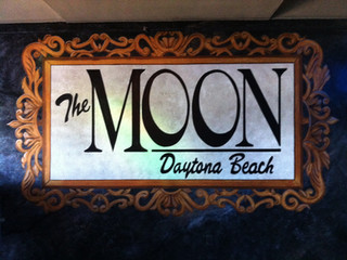 Moon Logo Mural