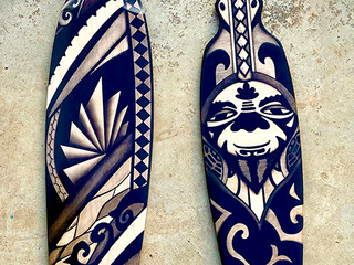 Painted Longboards
