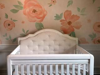 Victorian Baby Mural