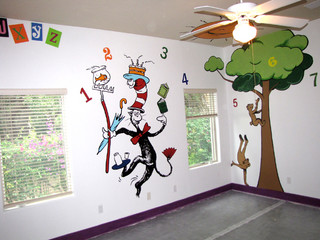 Character Learning Murals
