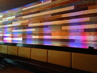 Restaurant Accent Wall