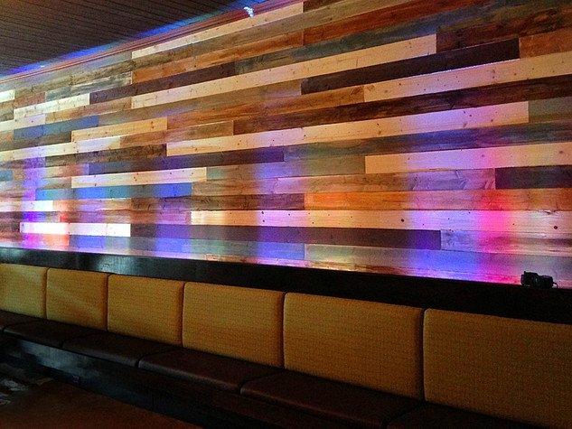 Restaurant Accent Wall