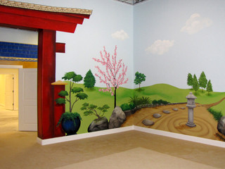 Japanese Playroom Mural
