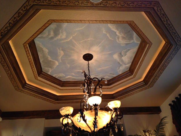 Cloud Tray Ceiling