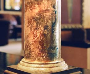 Painted Marble Column