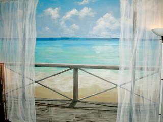 Beach Lookout Mural