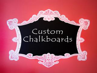 Custom Chalkboards for Kids