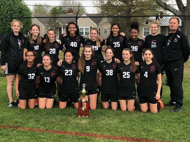Girls Varsity County Champs 2019