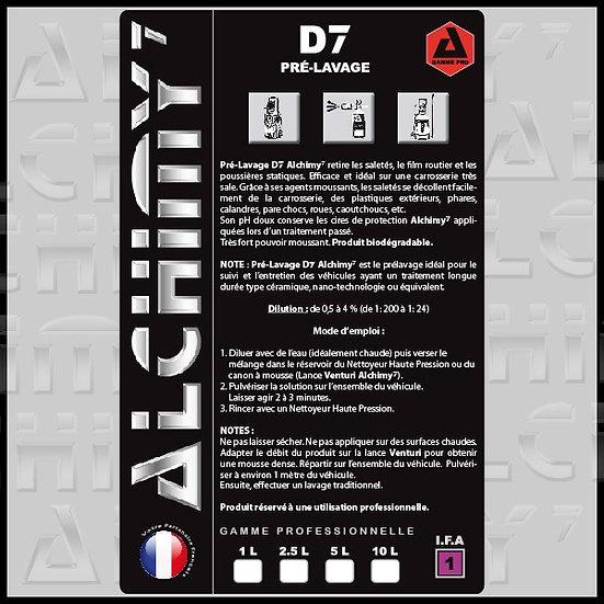 D7 - Prélavage 1L