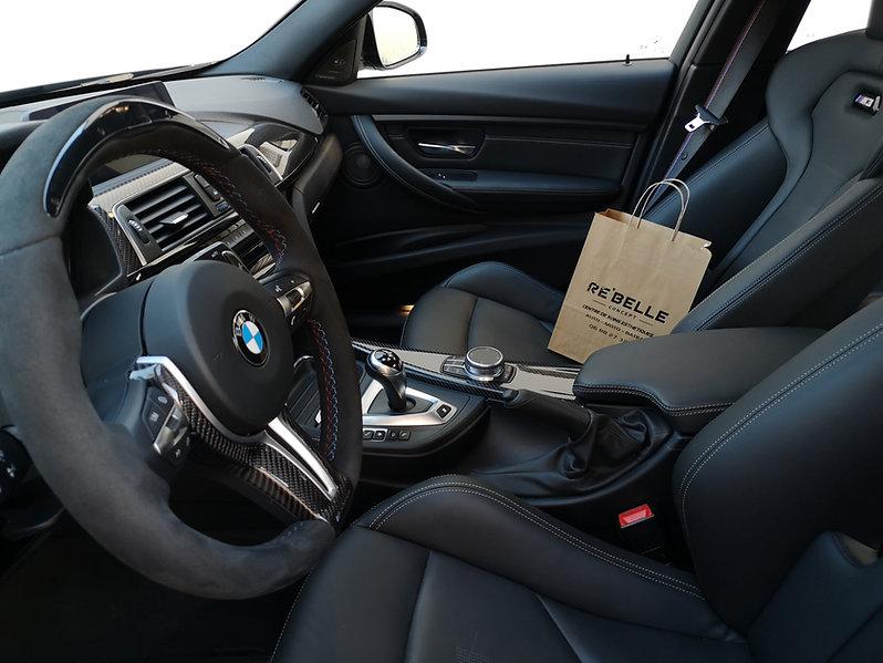 detailing intérieur automobile