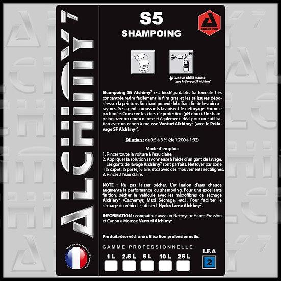 Shampoing S5 - Nouvelle FORMULE 1L