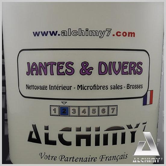 """Seau Renforcé """"Jantes & Divers"""""""