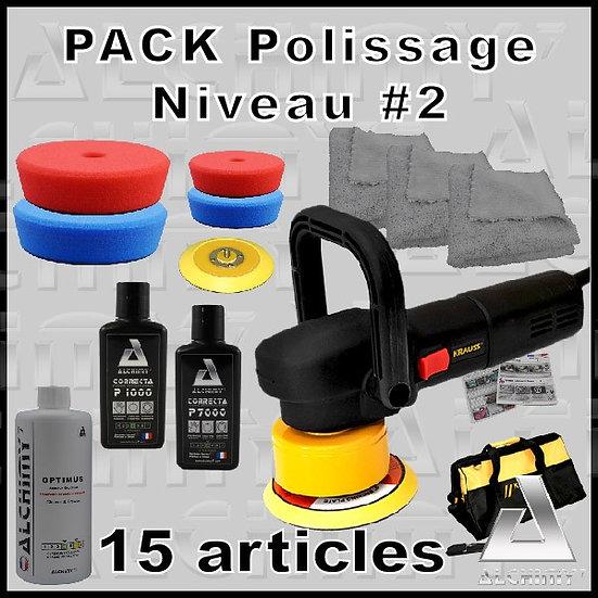 pack polissage niveau 2 alchimy7