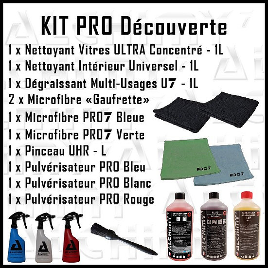 kit pro découverte alchimy7